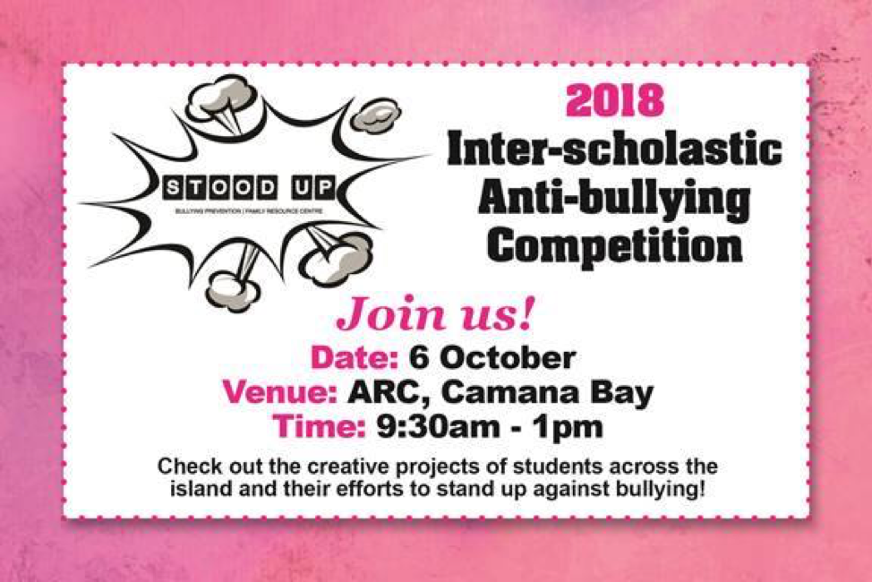 Family Resource Centre's Inter-Scholastic Anti-Bullying Competition