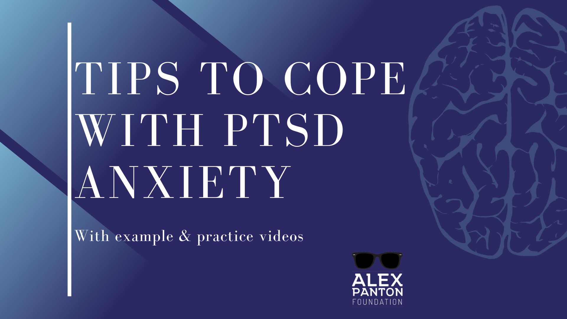 Tips to Cope with PTSD Anxiety