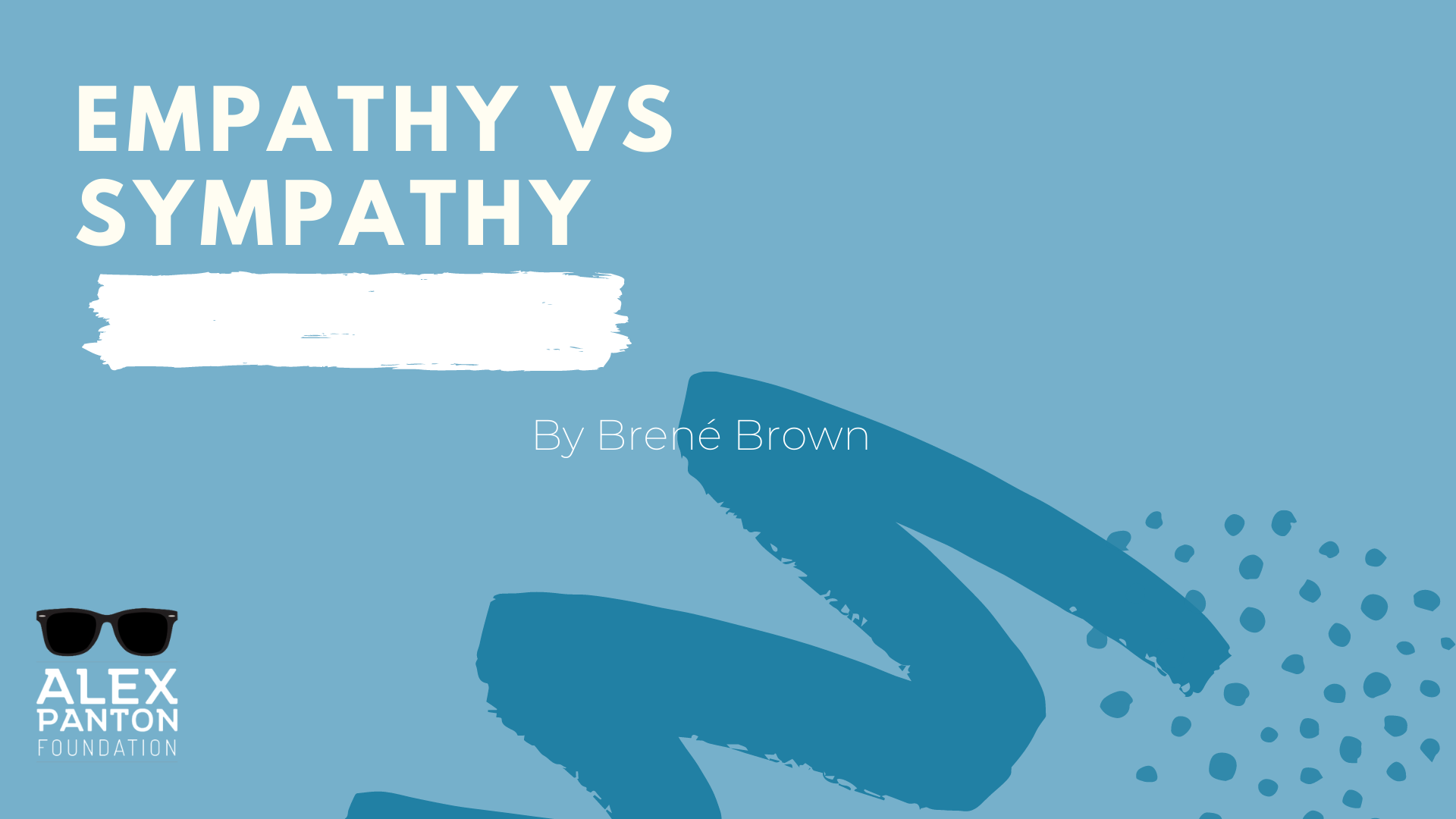 Watch: Empathy VS Sympathy