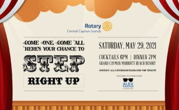 """""""Step Right Up!"""" hosted by Rotary Central Cayman Islands"""
